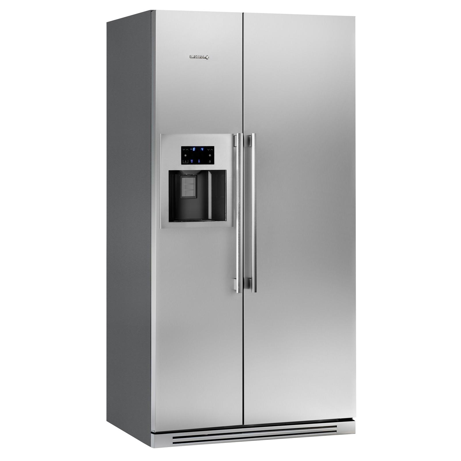 R frig rateur am ricain dka866x de dietrich - Refrigerateur glacon eau fraiche ...